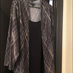 Women's dress and jacket all in one